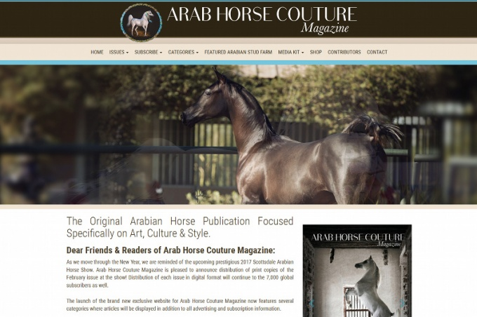 ArabHorseCouture Magazine