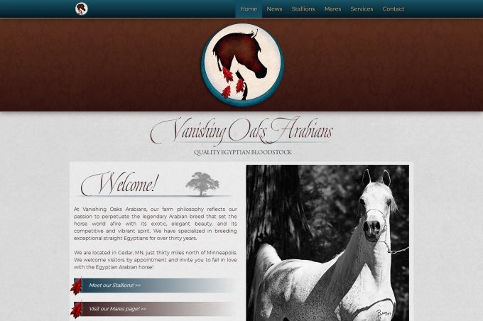 Vanishing Oaks Arabians - improved by AHP